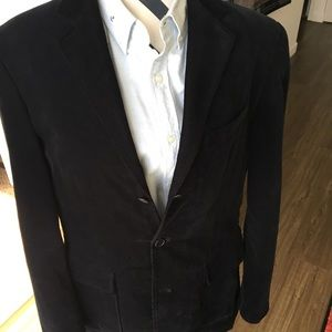 Men's navy blue Corduroy jacket.Size M. Tailored